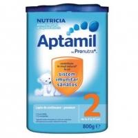 Lapte Praf Aptamil 2 Premium Nutricia Cu Prontura de la 6 Luni, 800 g