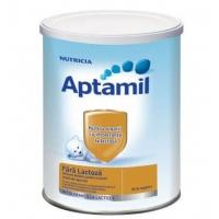 Lapte Praf Aptamil Nutricia Fara Lactoza de la Nastere, 400 g