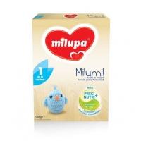 Lapte Praf Milupa Milumil 1 Partial Fermentat, de la Nastere, 600 g