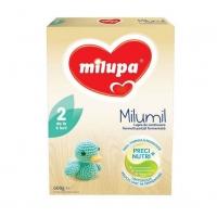 Lapte Praf Milupa Milumil 2 Partial Fermentat PreciNutri, de la 6 Luni, 600 g