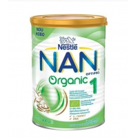 Lapte Praf Nestle Nan 1 Organic 0 - 6 Luni, 400 g