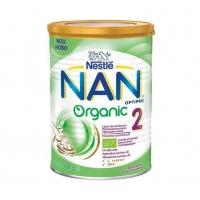 Lapte Praf Nestle Nan 2 Organic De la 6 Luni, 400 g