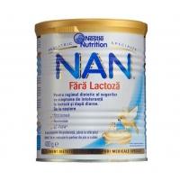 Lapte Praf Nestle Nan Fara Lactoza De la Nastere, 400 g