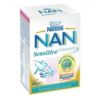 Lapte Praf Nestle Nan Sensitive de la Nastere, 500 g