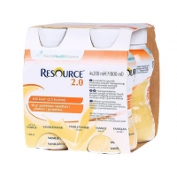 Lapte Pregatit Nestle Resource 2.0 Vanilla de La 3 Ani, 4 x 200 ml