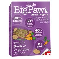 Pate Pentru Caini Little BigPaw, Rata Si Legume, 150G