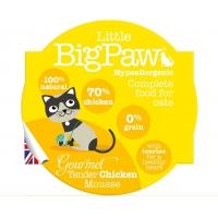 Pate Pentru Pisici Little BigPaw, Pui, 85G