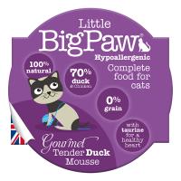 Pate Pentru Pisici Little BigPaw, Rata, 85G