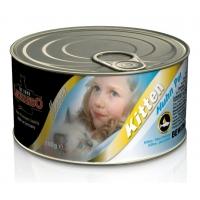 Leonardo Pate Kitten cu Pui 100 g