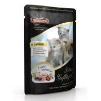 Leonardo Plic Kitten cu Pui si Ulei de Somon 85 g