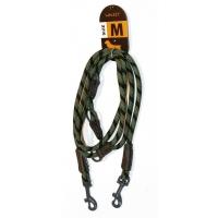 Lesa Caine Walkit Round Rope, M, 0.8 x 200 cm, Negru/Verde