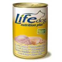 Life Dog Pui si Curcan 400 g