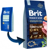 Brit Premium by Nature Light, 15 kg