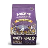 Lily's Kitchen Caine Adult 8+ cu Somon si Pastrav, 7 kg
