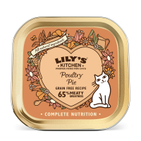 Lily's Kitchen Pisica Adult Poultry Pie, 85 g