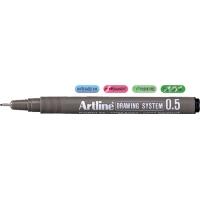 Marker pentru desen tehnic, 0.5mm, ARTLINE - negru