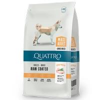 Quattro Premium Dog Maxi Adult cu Pui,12 kg