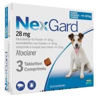 Nexgard M, 4-10 kg, 3 comprimate