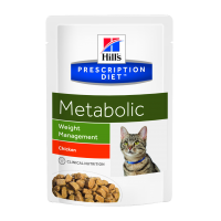 Hill's PD Feline Metabolic - Obezitate, 85 g