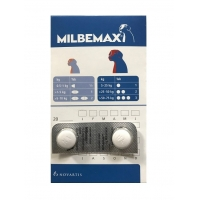 Milbemax Dog 12,5 / 125 mg (5 - 25 kg) - 2 tablete