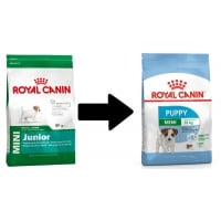 2 x Royal Canin Mini Junior (Puppy), 8 kg