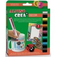 Set ALPINO Crea + DECOR - carioca