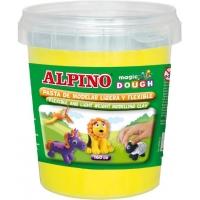 Plastelina magica, 160 grame/cutie, ALPINO - galbena