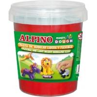 Plastelina magica, 160 grame/cutie, ALPINO - rosie