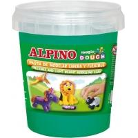 Plastelina magica, 160 grame/cutie, ALPINO - verde