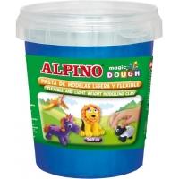 Plastelina magica, 160 grame/cutie, ALPINO - albastra