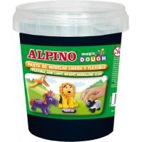 Plastelina magica, 160 grame/cutie, ALPINO - neagra