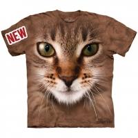 Tricou la Conserva Striped Cat Face L