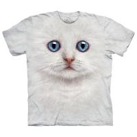 Tricou la Conserva Ivory Kitten Face M