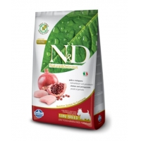 N&D Grain Free Mini Adult Pui Si Rodie, 2.5 Kg