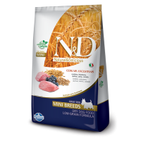 N&D Low Grain Adult Mini Miel si Afine, 2.5 kg