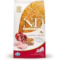N&D Low Grain Puppy Mini Pui si Rodie, 2.5 kg
