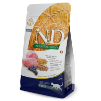 N&D Ancestral Grain Cat Adult cu Miel, Ovaz si Afine, 1.5 kg