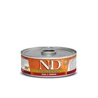 N&D Cat Prepelita si Dovleac, Conserva 80 g