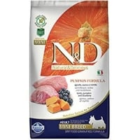 N&D Grain Free Puppy Mini Miel, Afine si Dovleac, 2.5 Kg