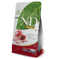 N&D Prime Cat Adult Pui si Rodie, 1.5 kg