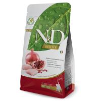 N&D Prime Kitten Grain Free Pui si Rodie, 1.5 kg