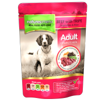 Natures Menu Adult Dog cu Vita si Rumen 300 g
