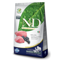 N&D Grain Free Adult Medium Miel si  Coacaze, 2.5 Kg