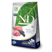 N&D Grain Free Adult Miel si Afine, 12 kg
