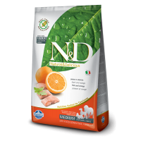 N&D Grain Free Adult Medium Peste si Portocala , 2.5 Kg