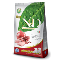 N&D Grain Free Puppy Mini si Medium Pui si Rodie, 2.5 Kg