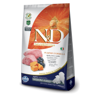N&D Grain Free Puppy Medium si Maxi Miel, Coacaze si Dovleac, 2.5 Kg