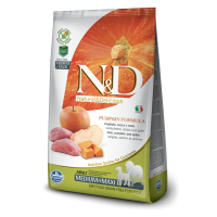 N&D Grain Free Adult Medium si Maxi Mistret, Mar si Dovleac, 12 Kg