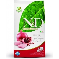 N&D Grain Free Adult Pui si Rodie, 2.5 kg