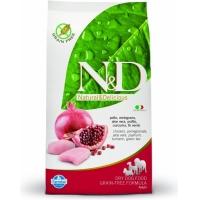 N&D Grain Free Adult  Pui si Rodie  12 kg